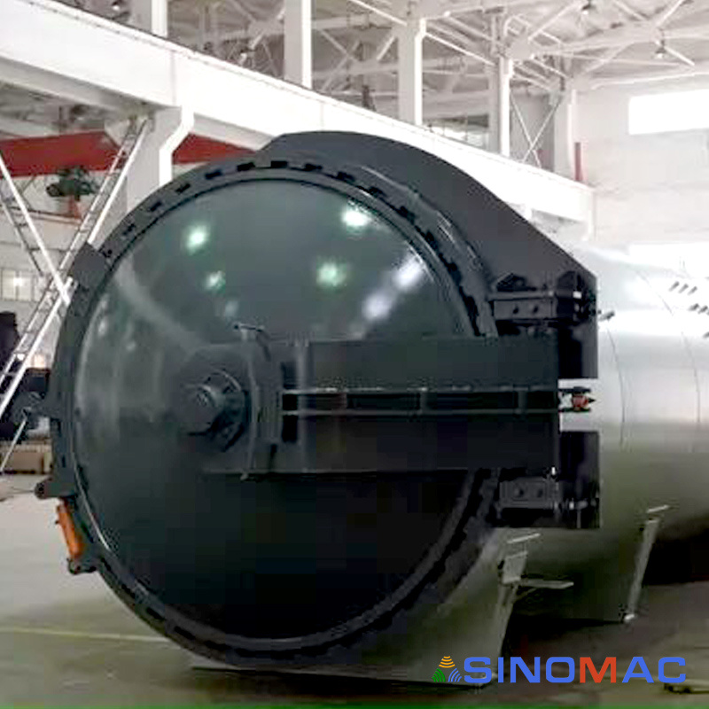2000X4000mm ASME Approved Composite Curing Autoclave (SN-CGF2040)