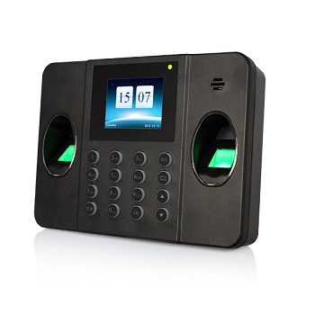Dual Scanner Multi Biometric Fingerprint Time Attendance with TCP/IP USB Wiegand