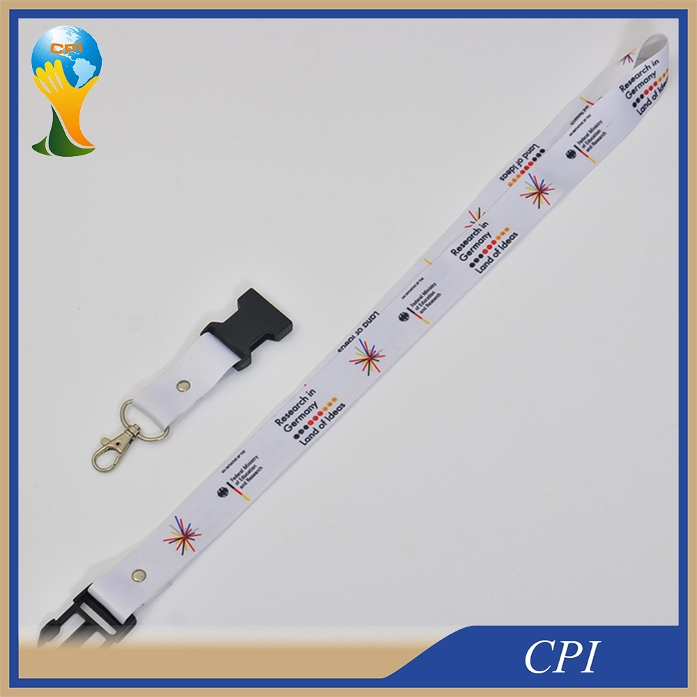 Sublimation High Quality Custom Lanyard for Company