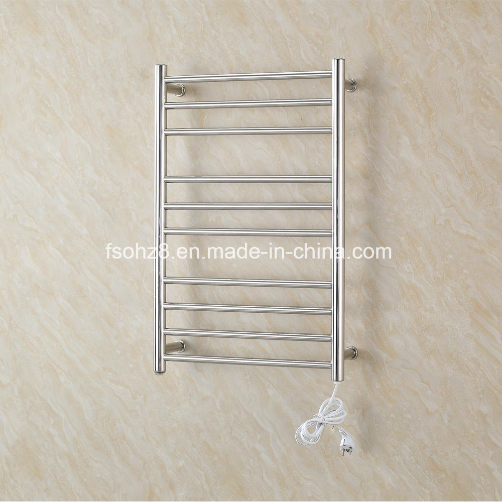 Stainless Steel Electric Heated Towel Rack for Bathroom
