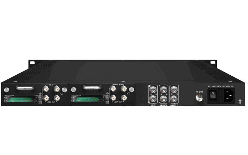 DVB-C/S/S2/T/T2 Inputs Transmodulator