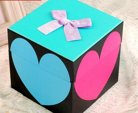 Two Piece Set up Rigid Paper Gift Box Wholesale
