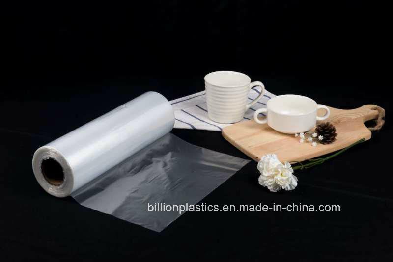 HDPE Transparent Plastic Food Flat Bags on Roll, Fruit Bag Fr-17070510
