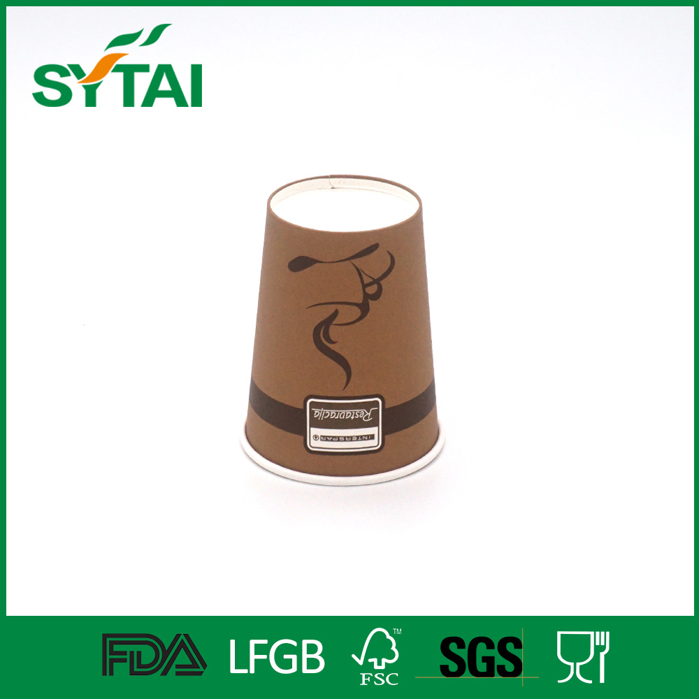 Many Sizes Single Wall PE Coated Disposable Coffee Paper Cup
