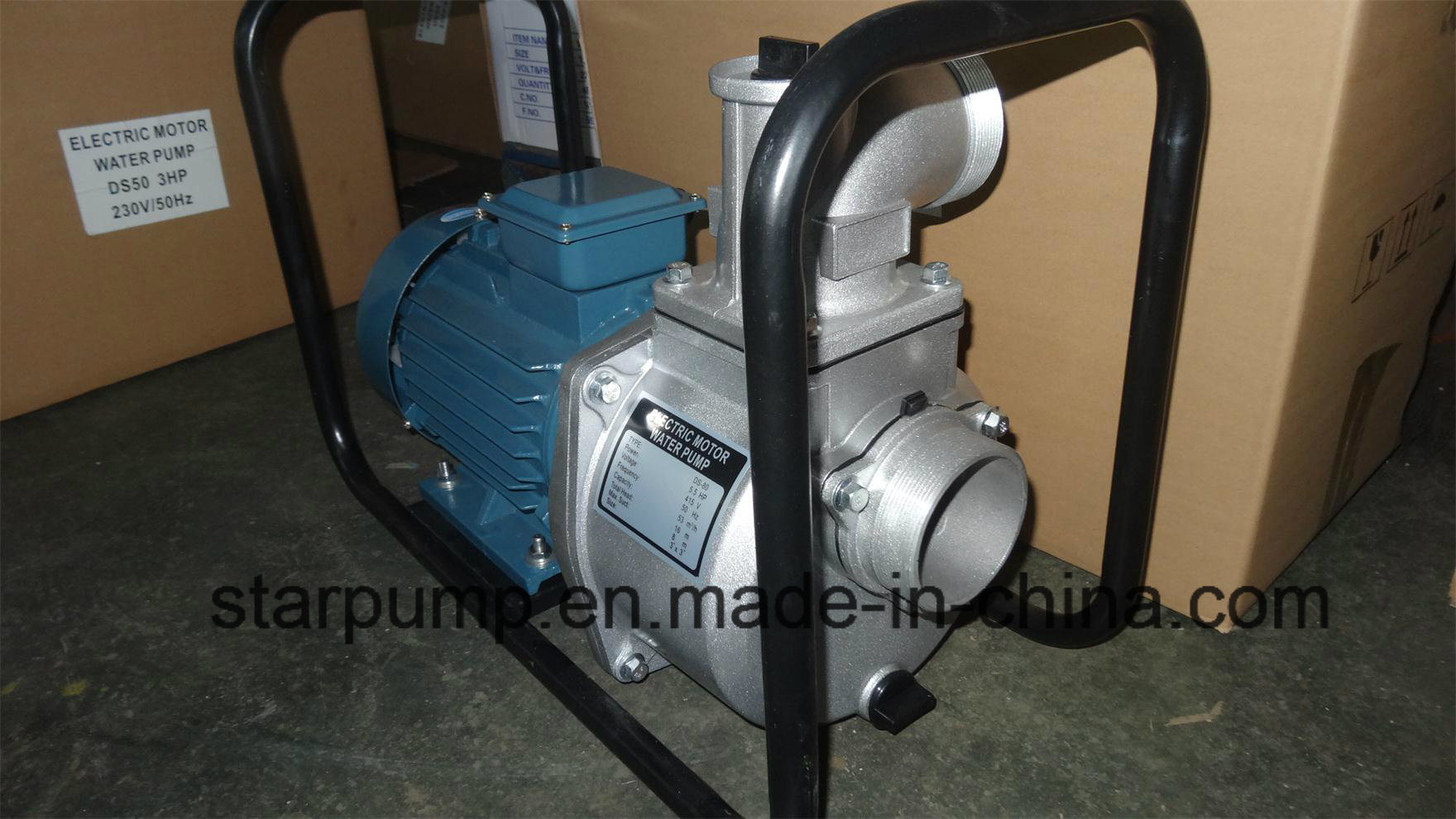 5HP Aluminum Housing Agriculture Using Centrifugal Water Pump
