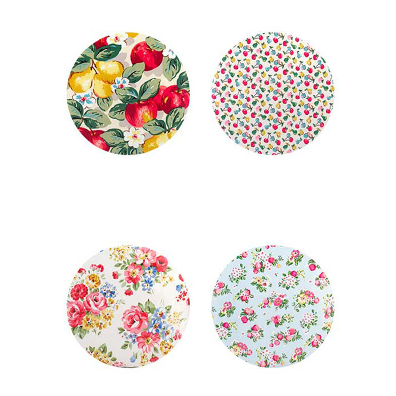 Floral Pattern Printing Waterproof PVC Canvas Shopping Bag (2293)