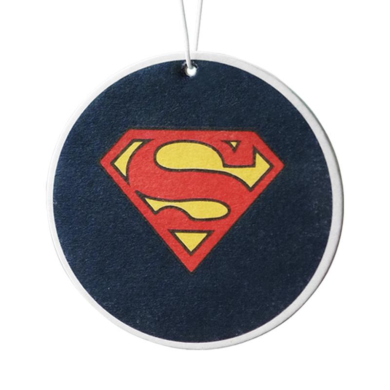 Hanging Paper/Shoe Car Solid Perfume Superhero Logo