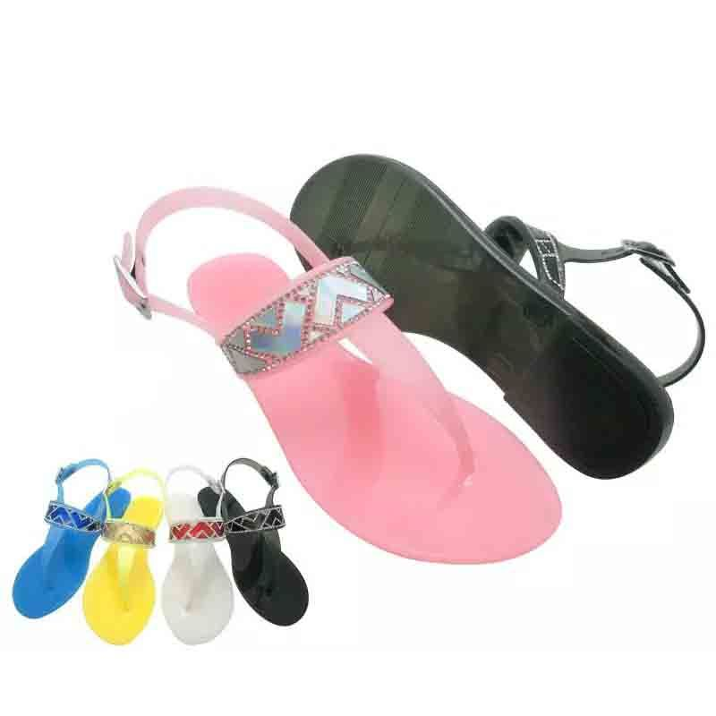 New Arrival Fashionable Starfish Beaded Sandals Jelly Sandals