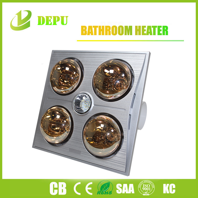 Bathroom Heater with Four Lamps