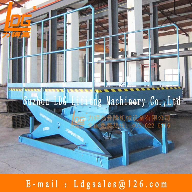Stationary Heavy Hydraulic Scissor Lift Platform (SJG20-2)