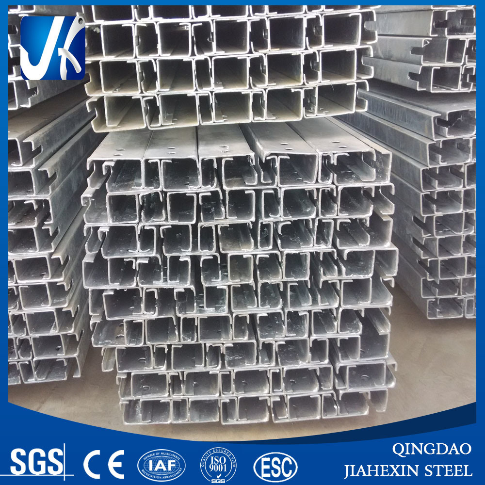 Steel Rail with Slot for Clamp, Length 6000mm
