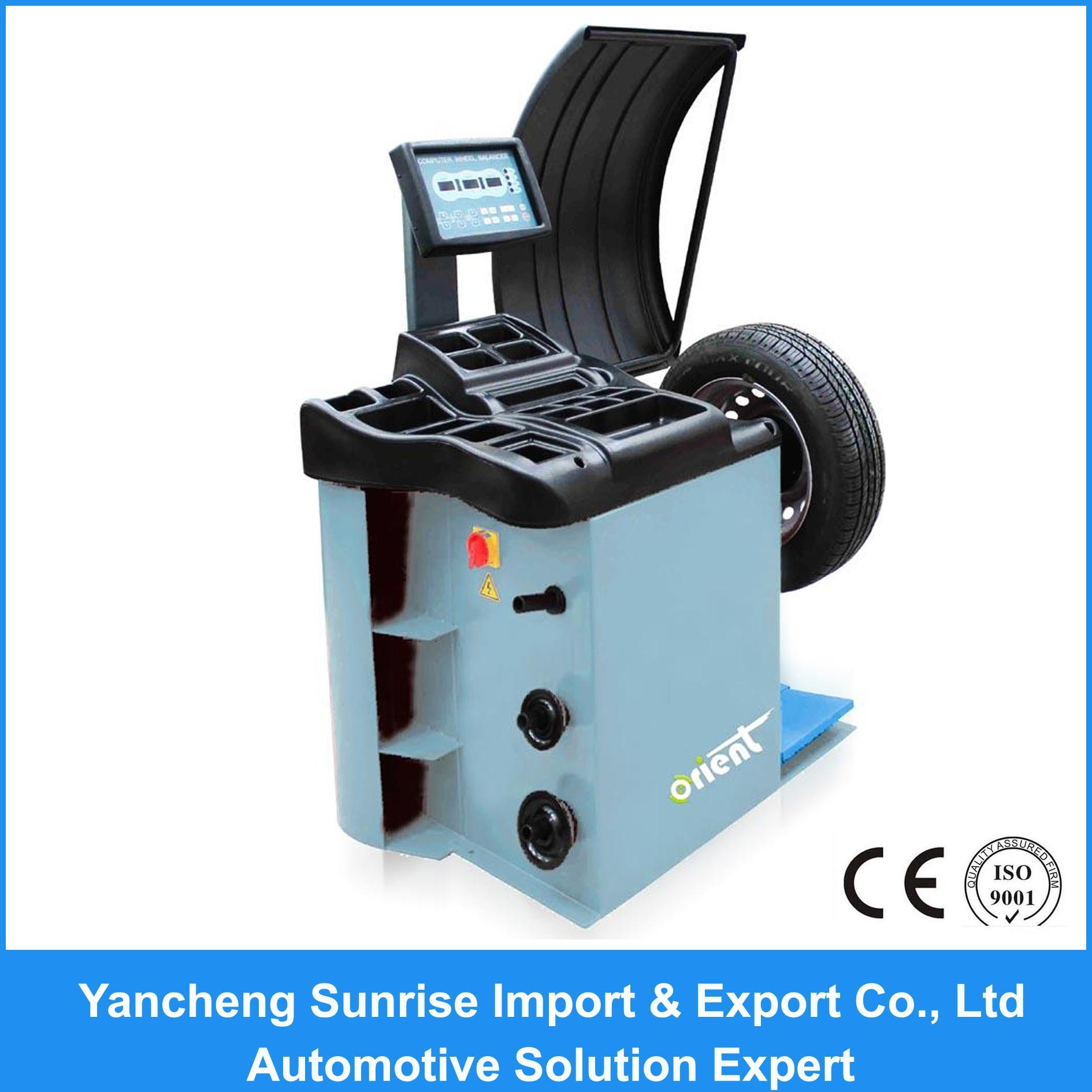 New Design Balancing Machine for Wheel