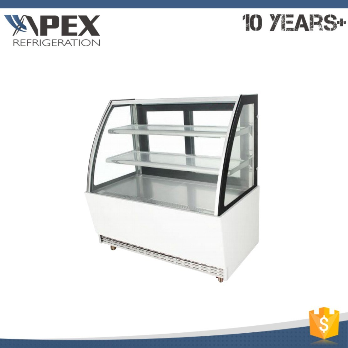 Apex Commercial Cake Display Cabinet in High Quality Standard