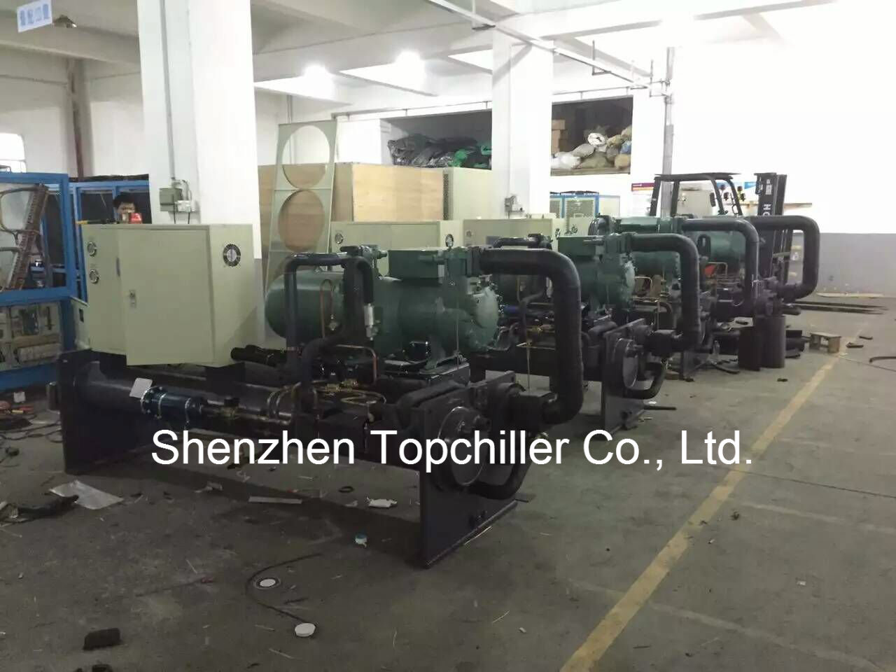 Explosion-Proof 85tr 250kw Water Cooled Chiller for Concrete Batching Plant