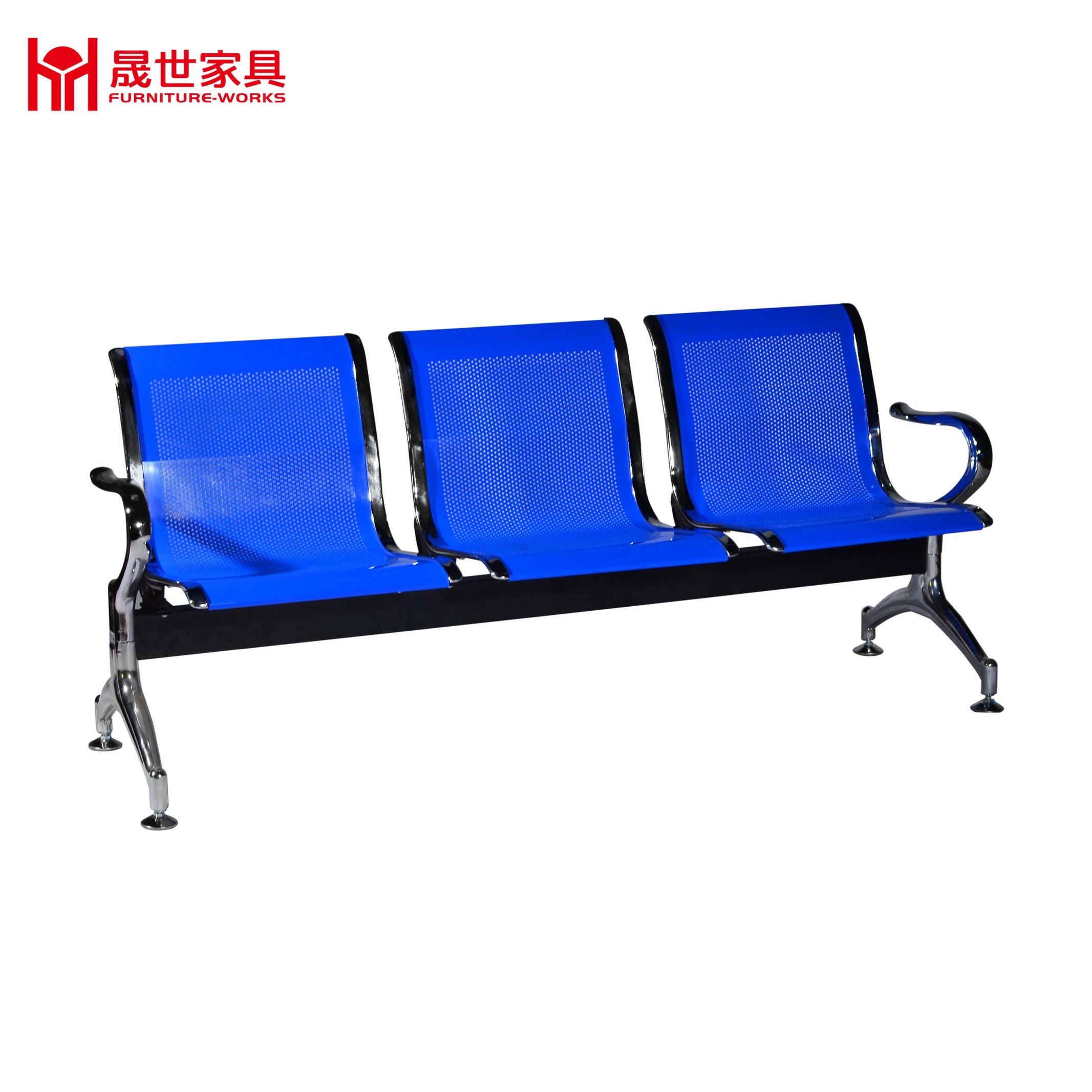 High Quality China Price Airport Metal Waiting Chair with 3-Seater 4-Seater for Lounge