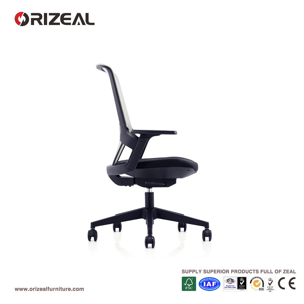 Orizeal Modern Design Office Ergonomic Swivel Computer Desk Chair (OZ-OCM032B)