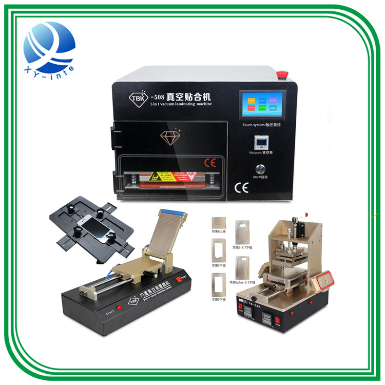 Tbk LCD Repair Equipment Oca Vacuum Laminator Machine+ 14 Inch Separtor Machine+ 7 Inch Separtor Machine Built-in Vacuum