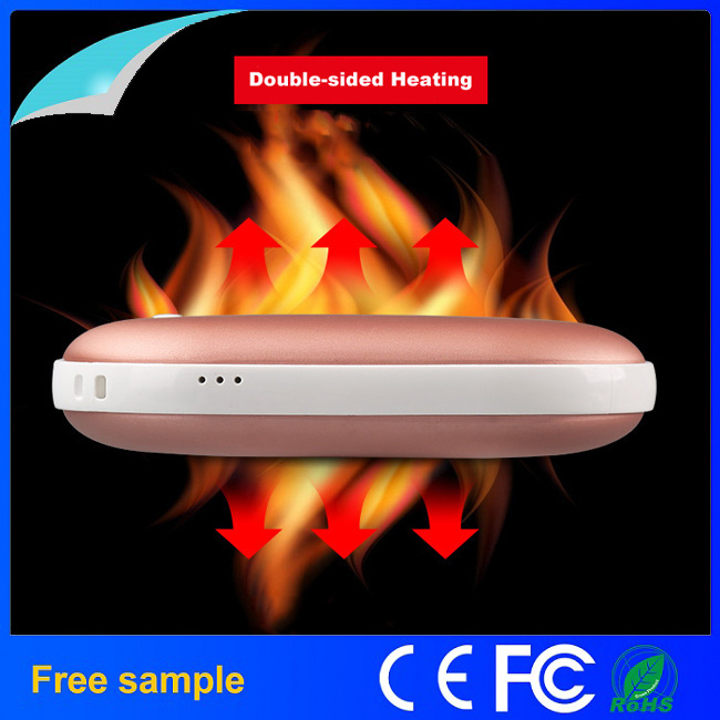 Double-Sided Heating Power Bank Hand Warmer