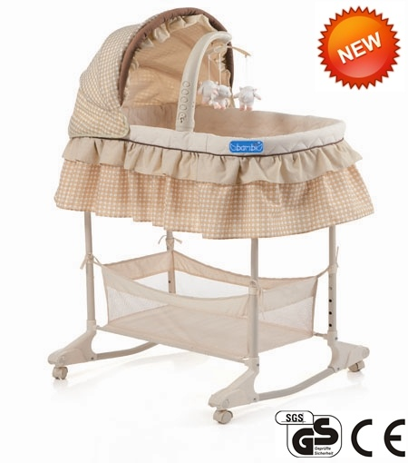 3 in 1 Advanced Baby Bassinet with Ce Certificate (CA-BB130)