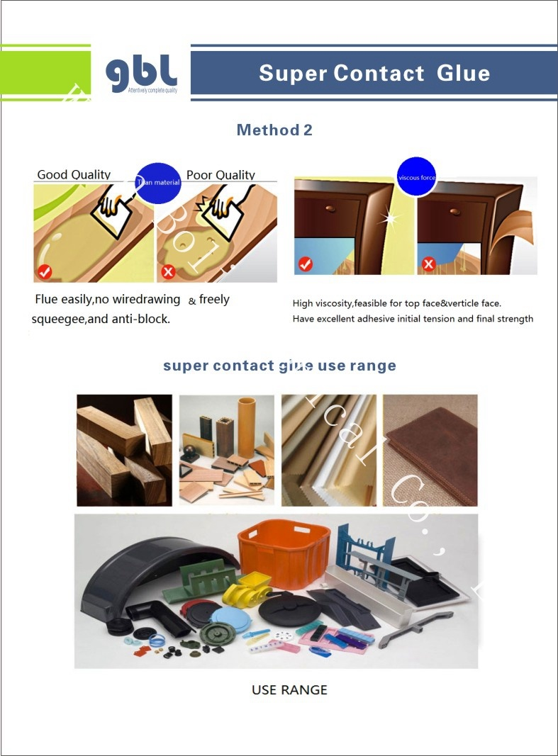 China Supplier High Viscosity Neoprene Glue