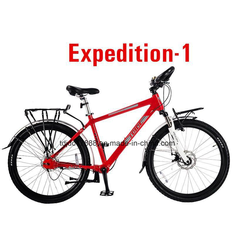 Popular New 7 Speed Long Travel Bike Fat Tire Bike