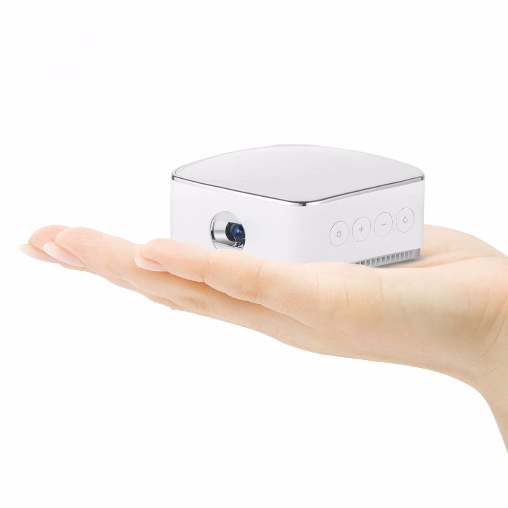 High Lumen Full HD Mini Portable Wireless DLP Projector