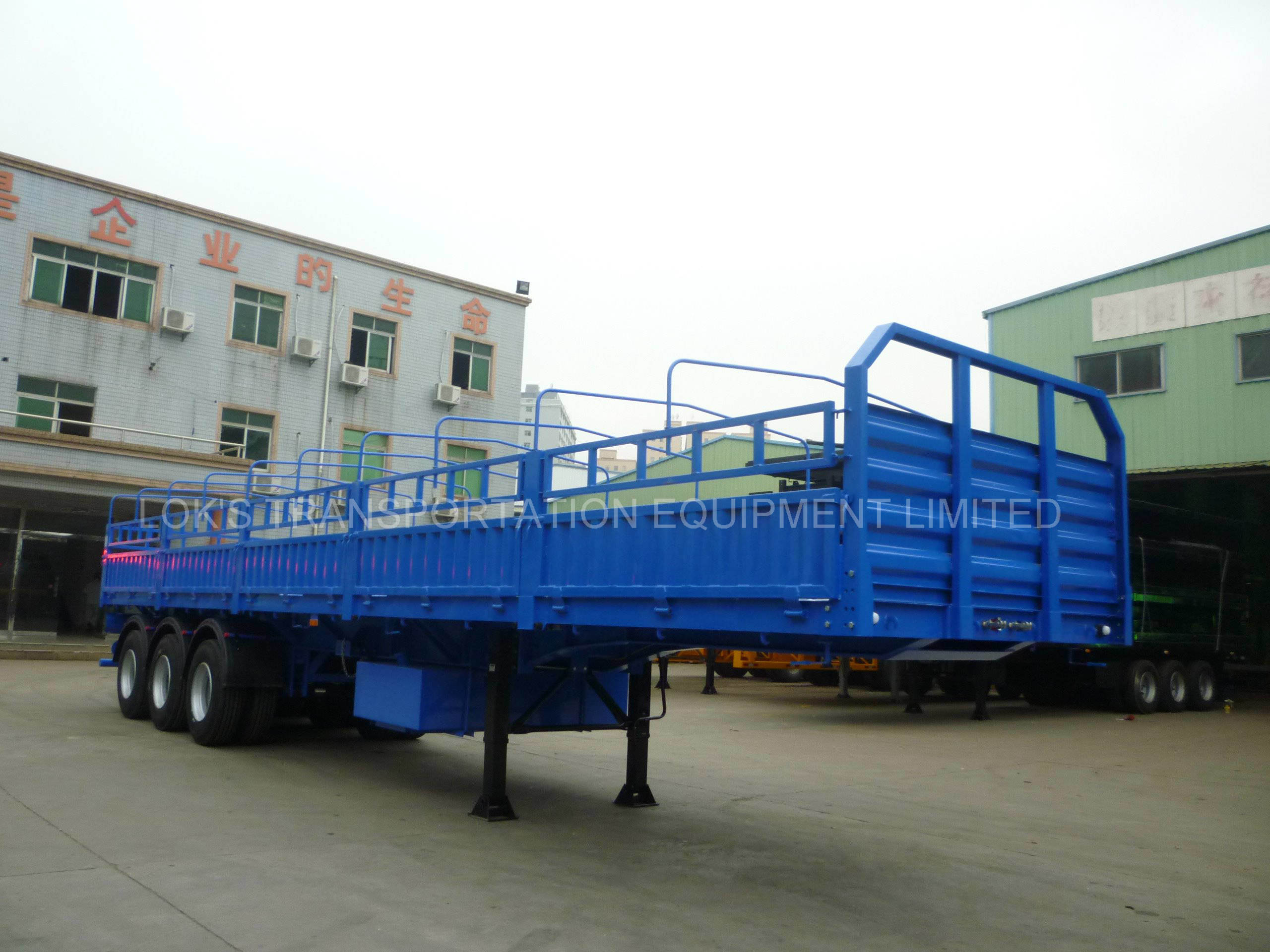40 Feet 3axle Side Wall Semi Trailer (Africa Market)
