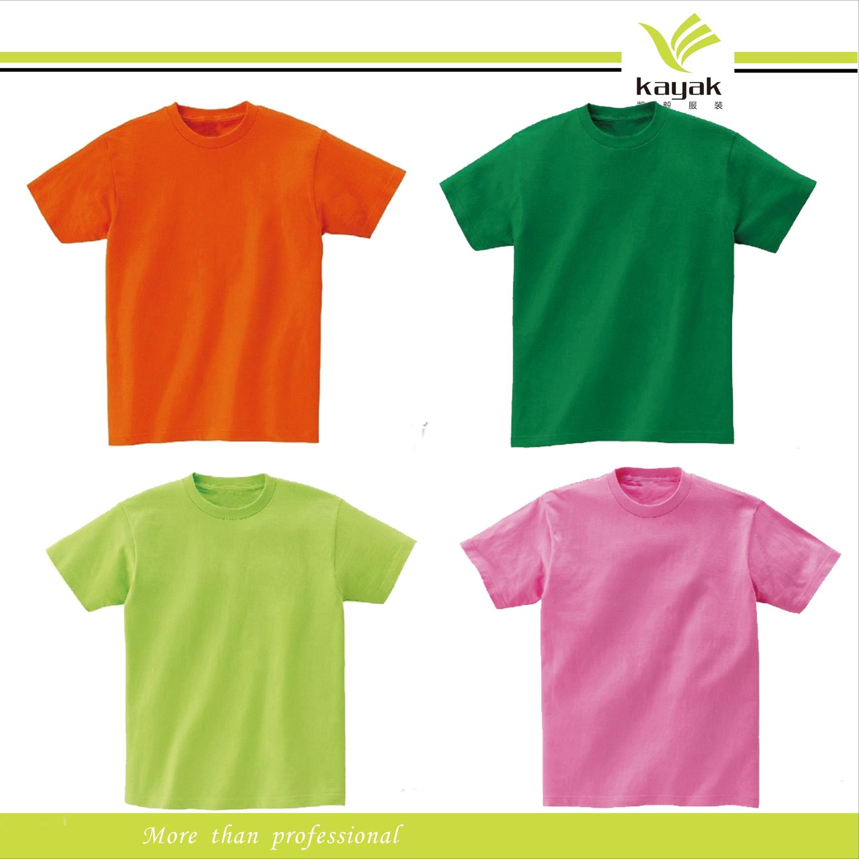 China custom cotton printing t shirt with your own design for Plain t shirts to print on