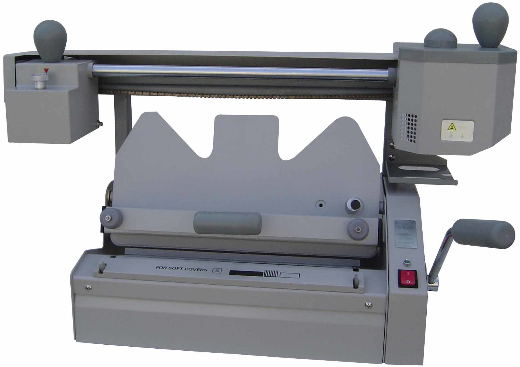 adhesive binding machine