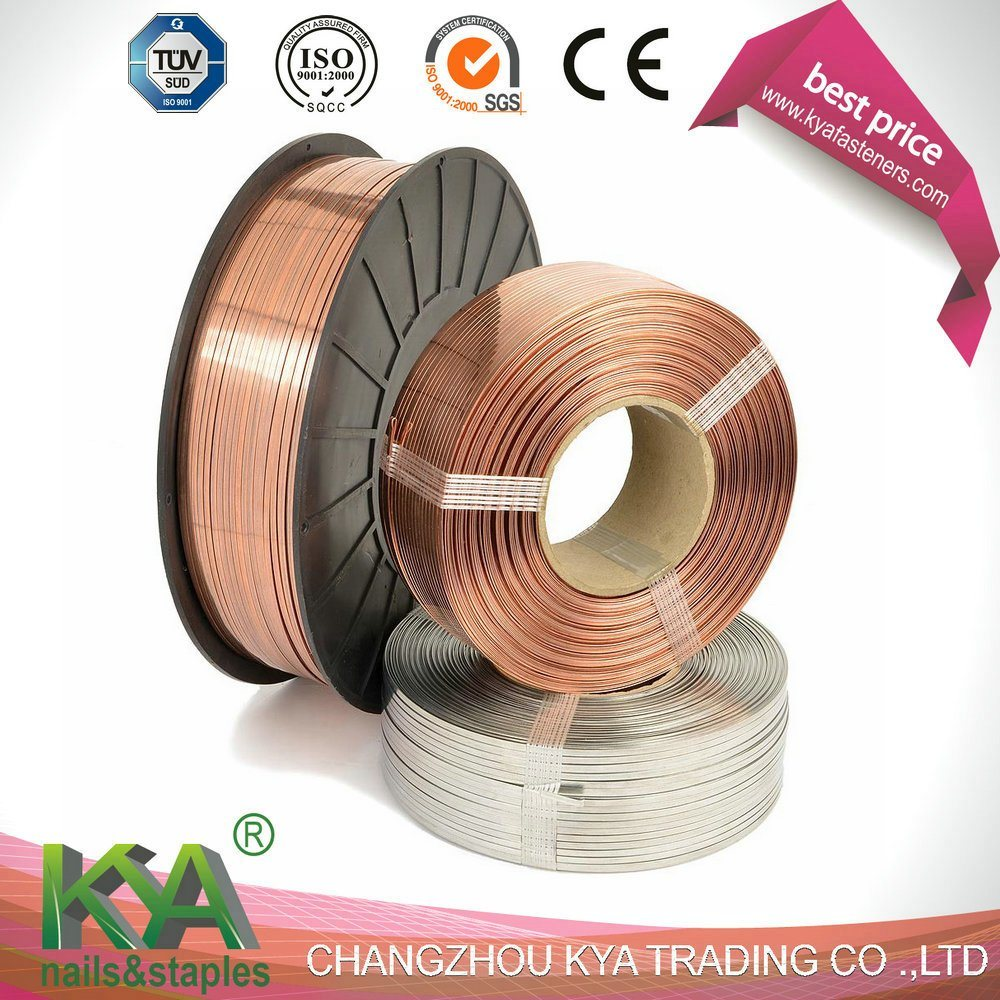103020g10 Galvanized Flat Stitching Wire