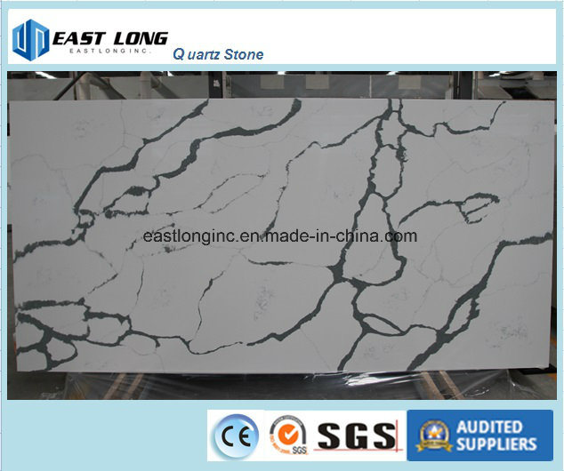 Wholesale Building Material Quartz Stone for Kitchen Countertop/ Table Top/ Solid Surface/ Quartz Tiles