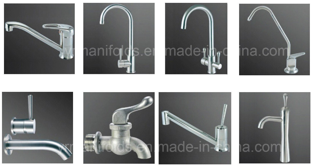 Stainless Steel Classic Concealed Faucets