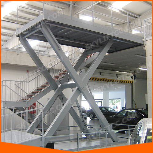3ton Electric Car Stationary Scissor Lift