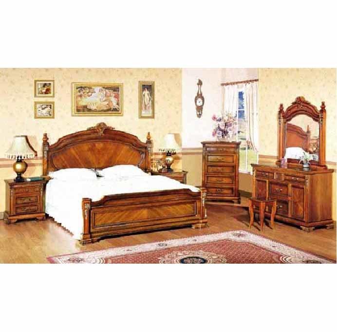 Antique Bedroom Sets (KXF-BF-002) - China Bedroom Sets, Bed