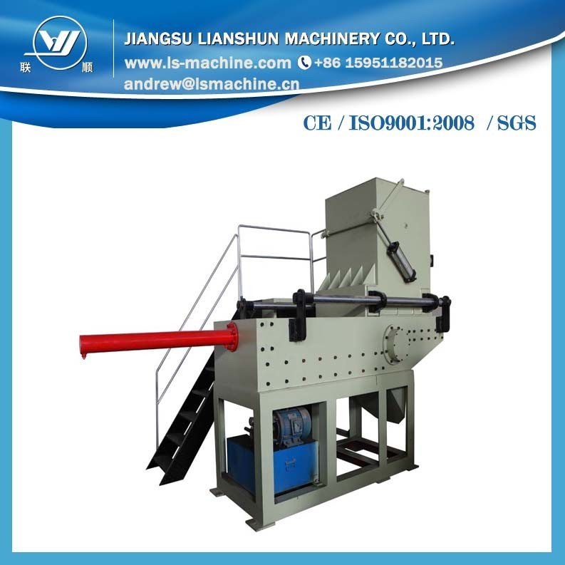 New Style Shredder for Plastic Pipe with High Output