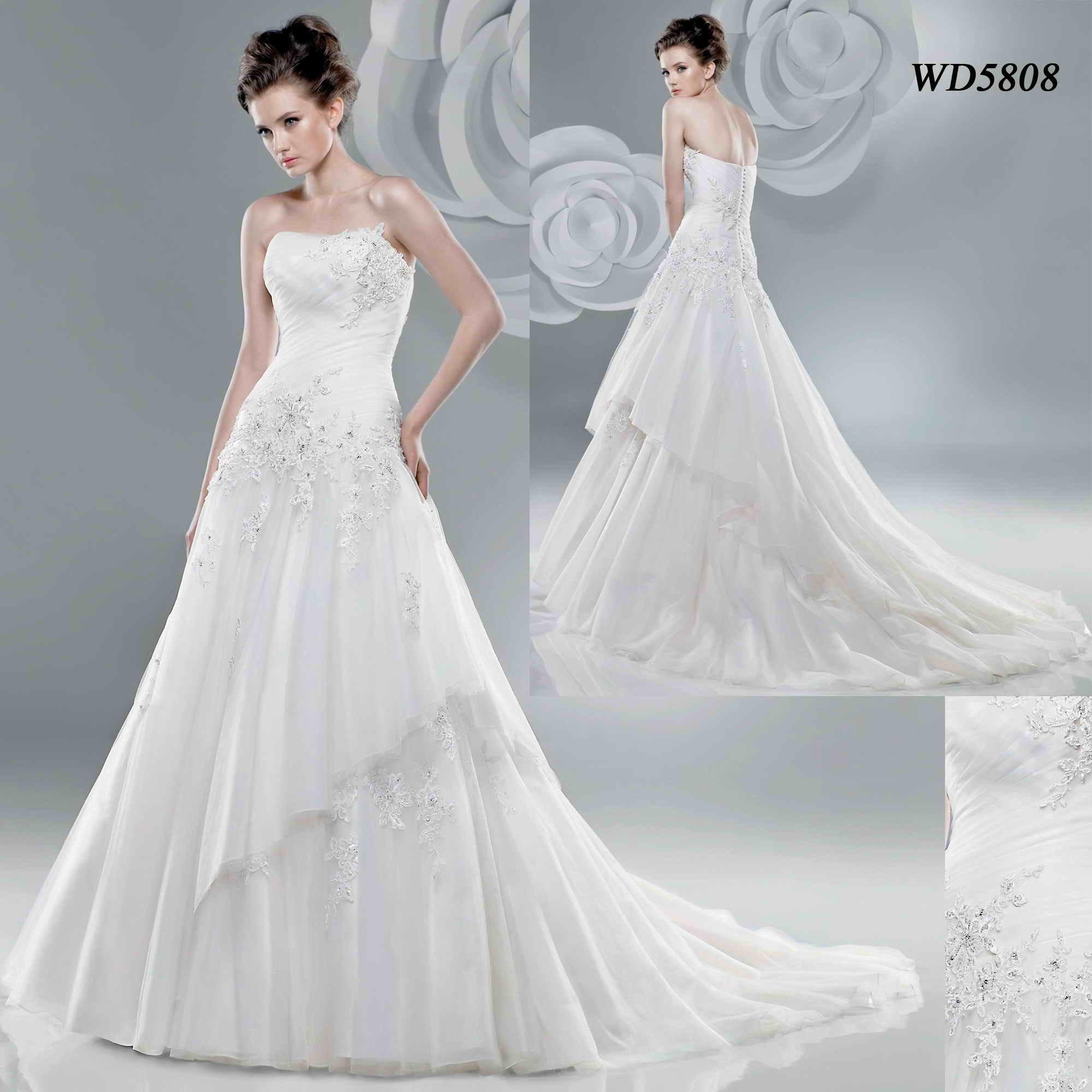 Wedding Dress Gown (WD5808)