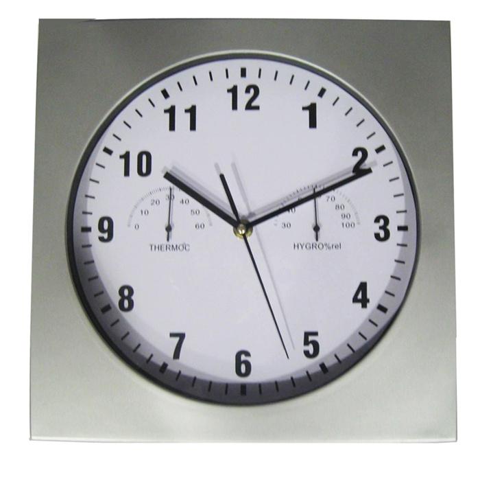 humidity wall clock a4015 china wall clock temperature clock
