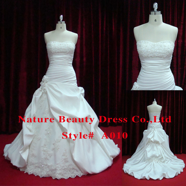 2010 2011 High Fashion Wedding Dress Wedding Gown A010