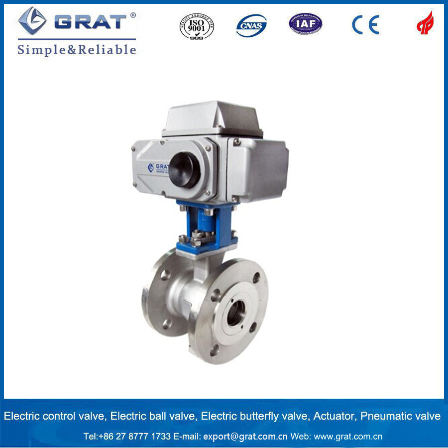 200nm/400nm/600nm Torque Electric Actuator for Control Valve