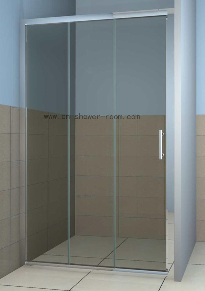 China three sliding panel shower door china shower for 3 panel tub shower doors