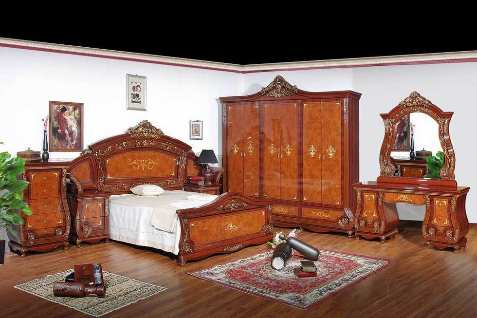 China New Model Bedroom Furniture With Polished China Bedroom Furniture