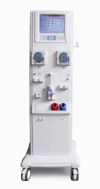 Double Pump LCD Hemodialysis Machine with Ce Approved