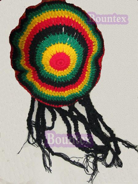 Chinese Rastafarian China Rasta Hat...