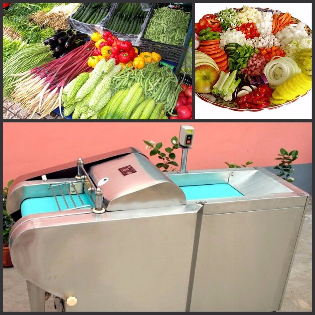Factory Price Fruit and Vegetable Cutting Machine