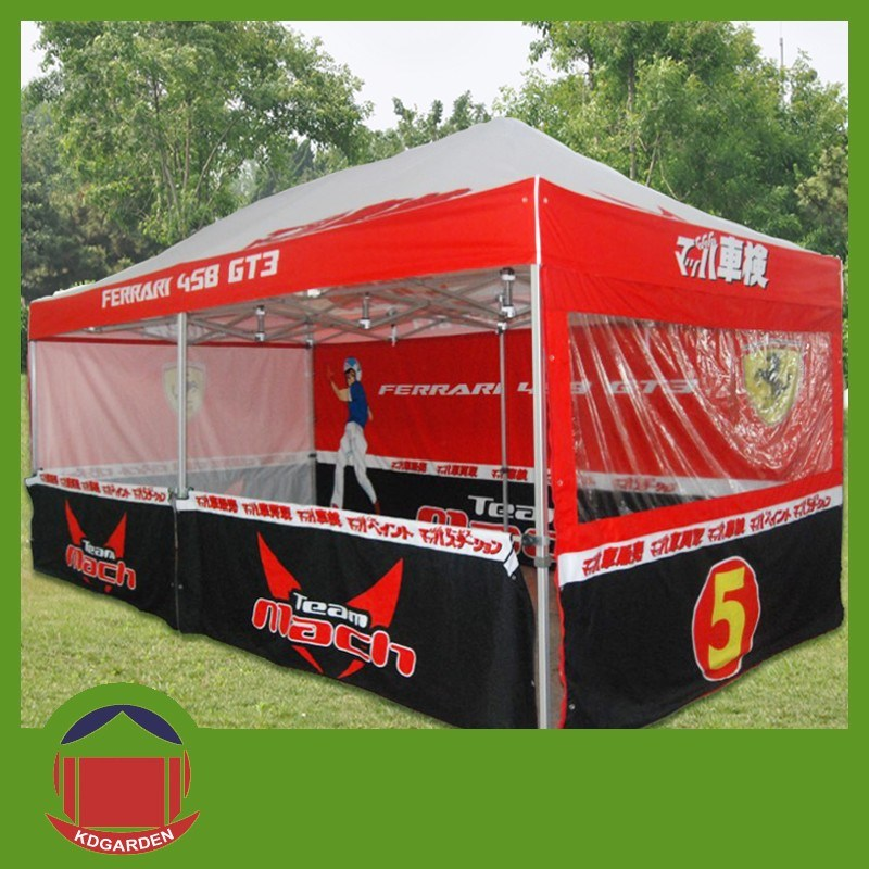 3X6m Printed Canopy Outdoor Tent