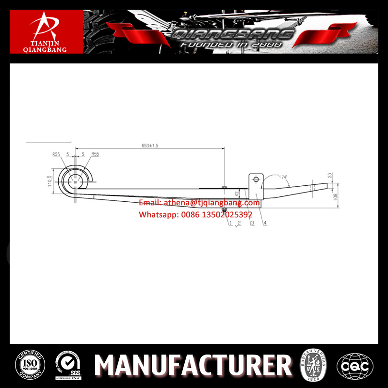 ISO Truck Z-Type Leaf Spring