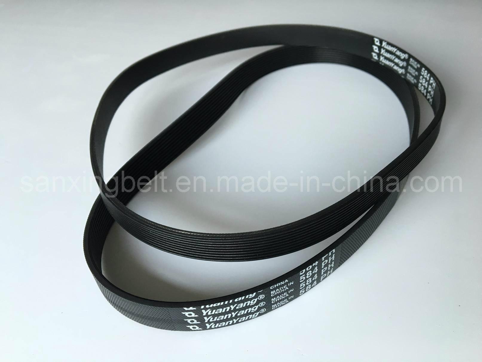 Elasic Poly V Belt for Roller Conveyor Transmission Machine