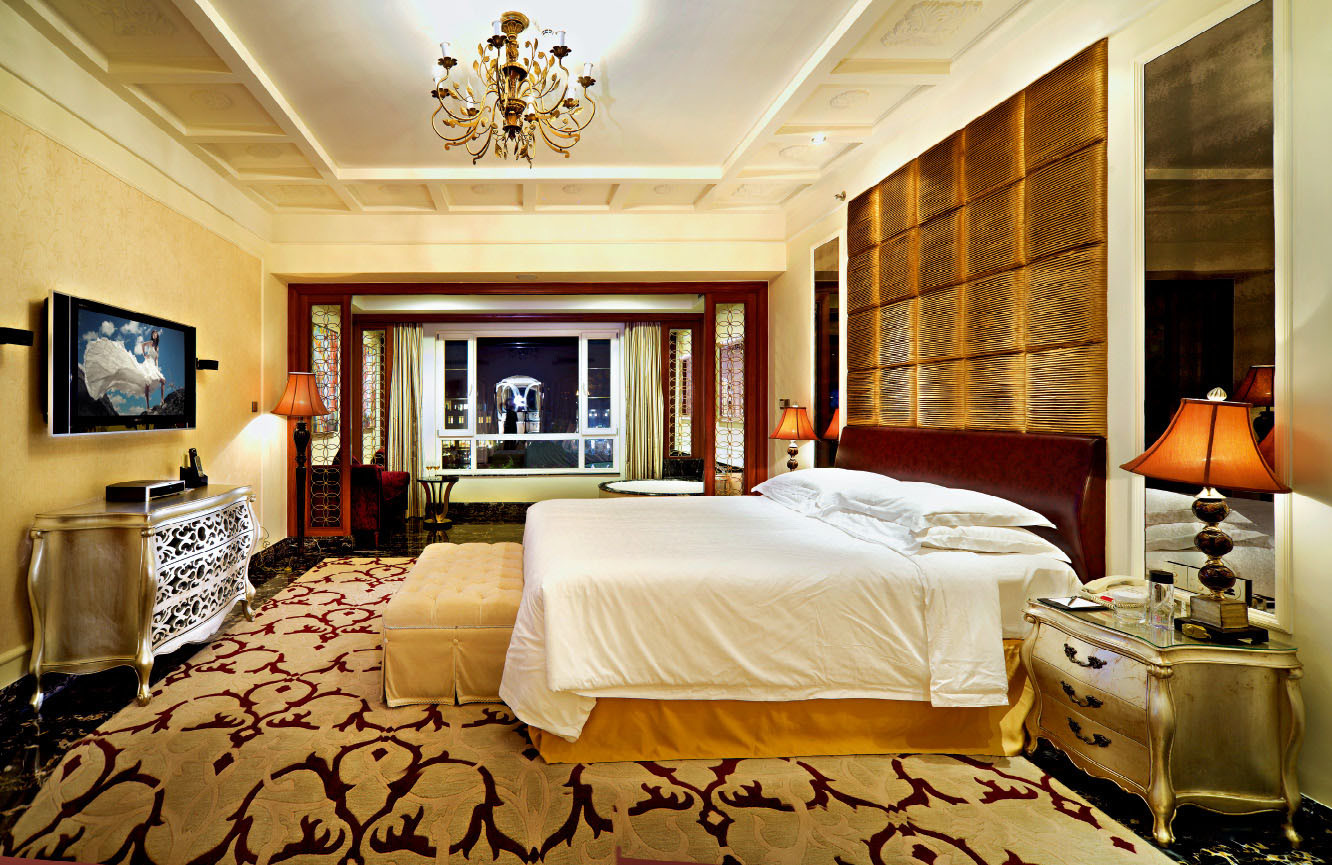 China luxury suite series luxury star hotel president for 5 star bedroom designs