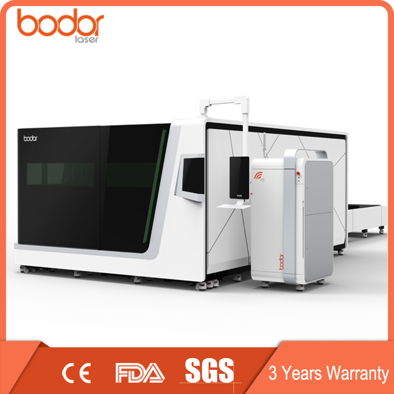 China Manufacturers 500W 1000W 1500 Watt Metal CNC Fiber Laser Cutting Machine Price / Fiber Laser Cutter