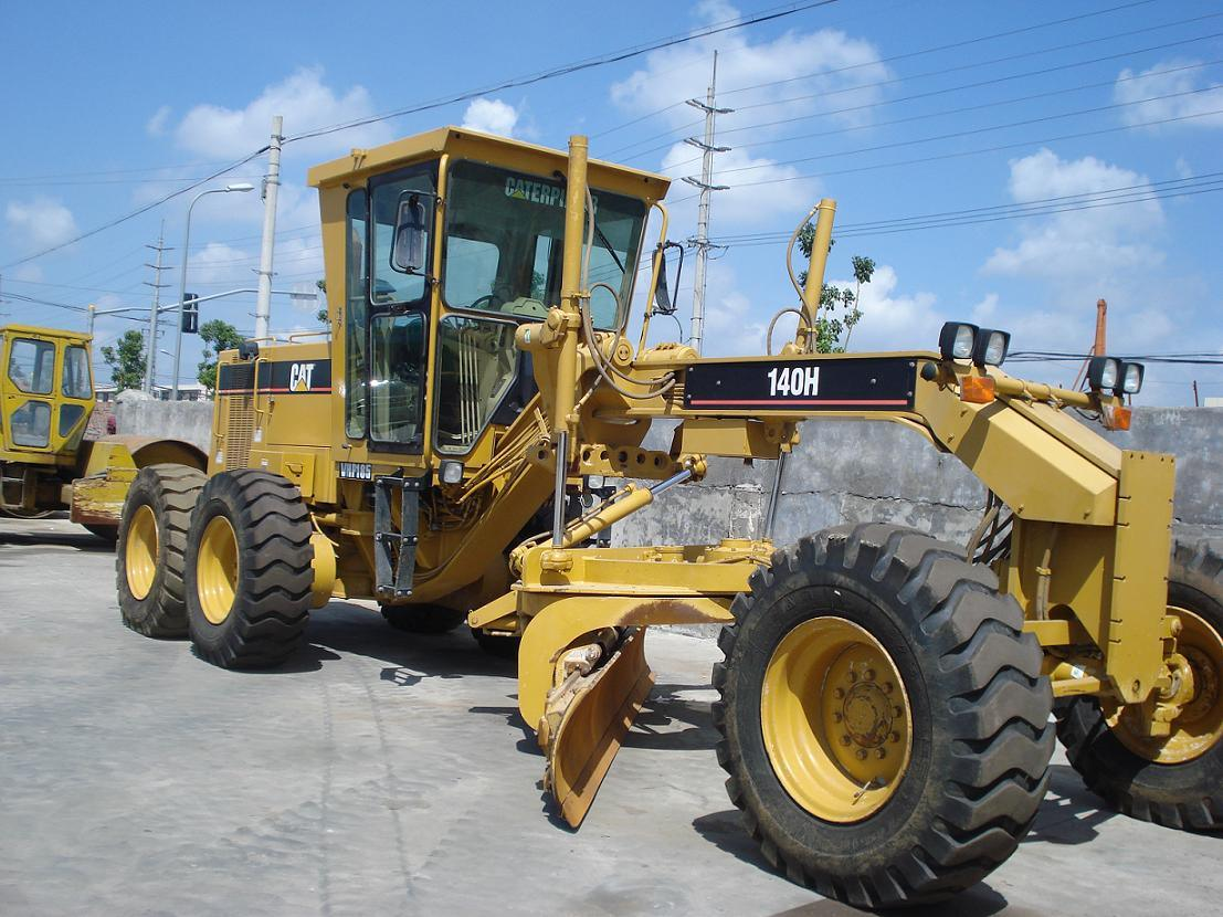 Cat 140h Motor Grader Photos Pictures